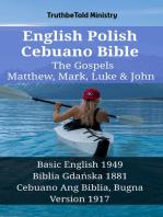 English Polish Cebuano Bible - The Gospels - Matthew, Mark, Luke & John