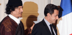 French Ex-President Questioned On Claims He Took Funds From Gadhafi