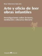 Arte y oficio de leer obras infantiles: Investigaciones sobre lectores, mediación y discurso literario