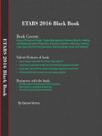 ETABS 2016 Black Book