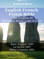 English French Polish Bible - The Gospels III - Matthew, Mark, Luke & John
