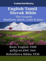 English Tamil Slovak Bible - The Gospels - Matthew, Mark, Luke & John
