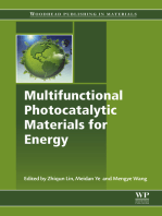 Multifunctional Photocatalytic Materials for Energy