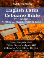 English Latin Cebuano Bible - The Gospels - Matthew, Mark, Luke & John