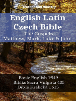 English Latin Czech Bible - The Gospels - Matthew, Mark, Luke & John