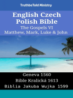 English Czech Polish Bible - The Gospels VI - Matthew, Mark, Luke & John