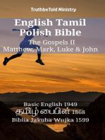 English Tamil Polish Bible - The Gospels II - Matthew, Mark, Luke & John