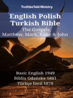English Polish Turkish Bible - The Gospels - Matthew, Mark, Luke & John