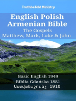English Polish Armenian Bible - The Gospels - Matthew, Mark, Luke & John