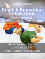 English Romanian Polish Bible - The Gospels II - Matthew, Mark, Luke & John