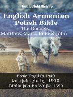 English Armenian Polish Bible - The Gospels - Matthew, Mark, Luke & John