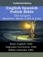 English Spanish Polish Bible - The Gospels III - Matthew, Mark, Luke & John