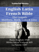 English Latin French Bible - The Gospels - Matthew, Mark, Luke & John