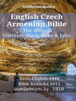 English Czech Armenian Bible - The Gospels - Matthew, Mark, Luke & John
