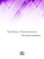 Verbos alemanes (100 verbos conjugados)