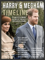 Harry & Meghan Timeline - Prince Harry and Meghan, The Story Of Their Romance