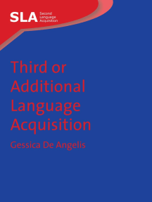 Third or Additional Language Acquisition