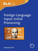 Foreign Language Input