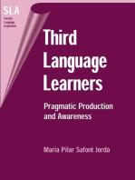 Third Language Learners