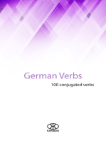 German Verbs (100 Conjugated Verbs)