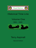Royal Marines Historical Time Line, Volume One