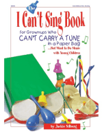 The I Can't Sing Book