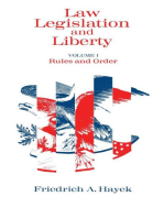 Law, Legislation and Liberty, Volume 1