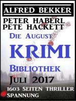 Die August Krimi Bibliothek