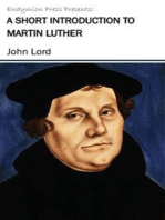 A Short Introduction to Martin Luther