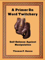 A Primer On Word Twitchery