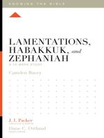 Lamentations, Habakkuk, and Zephaniah