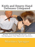 Knife and Empty-Hand Defenses Compared