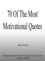 70 Of The Most Motivational Quotes