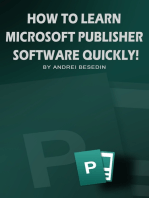 How to Learn Microsoft Publisher Software Quickly