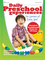 Daily Preschool Experiences