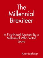 The Millennial Brexiteer
