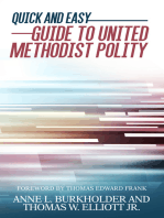 Quick and Easy Guide to United Methodist Polity