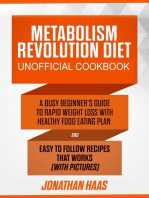 Metabolism Revolution Diet Unofficial Cookbook