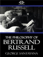 The Philosophy of Bertrand Russell