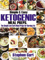 Simple & Easy Ketogenic Meal Preps