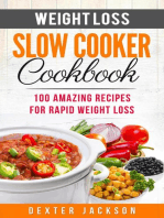 Weight Loss Slow Cooker Cookbook