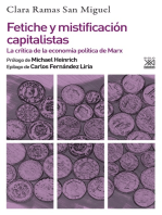 Fetiche y mistificación capitalistas: La crítica de la economía política de Marx