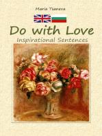 Do with Love:Inspirational Sentences