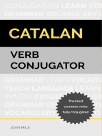 Catalan Verb Conjugator: The Most Common Verbs Fully Conjugated