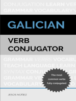 Galician Verb Conjugator: The Most Common Verbs Fully Conjugated