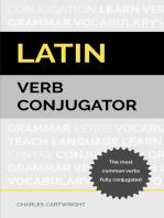 Latin Verb Conjugator