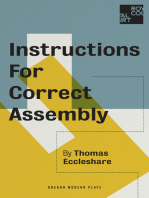 Instructions for Correct Assembly