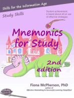 Mnemonics for Study (2nd ed.): Study Skills, #2
