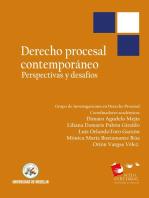 Derecho procesal contemporáneo: Perspectivas y desafíos