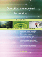 Operations management for services Second Edition